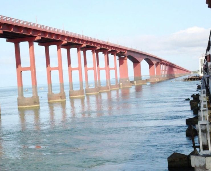 The Sea Bridge in India