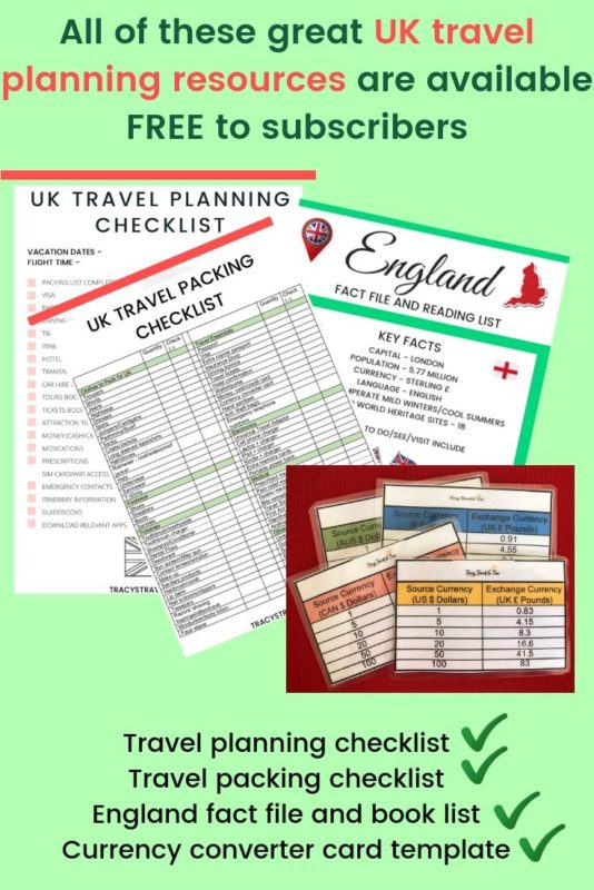 UK travel tips featured by top international travel blogger, Tracy's Travels in Time