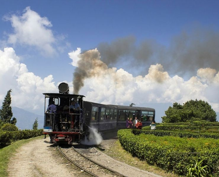 The Darjeeling Himalayan Railway one of the Best Train Journeys in India