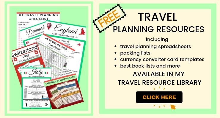 TRAVEL PLANNING RESOURCE SUBSCRIPTION BOX