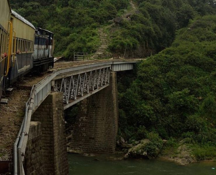 "Best Train Journeys in India featured by top international travel blogger, Tracy's Travels in Time"" the Kangra Valley Odyssey"