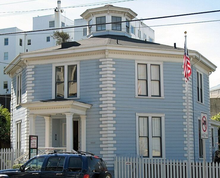 The Octagon House in San Francisco
