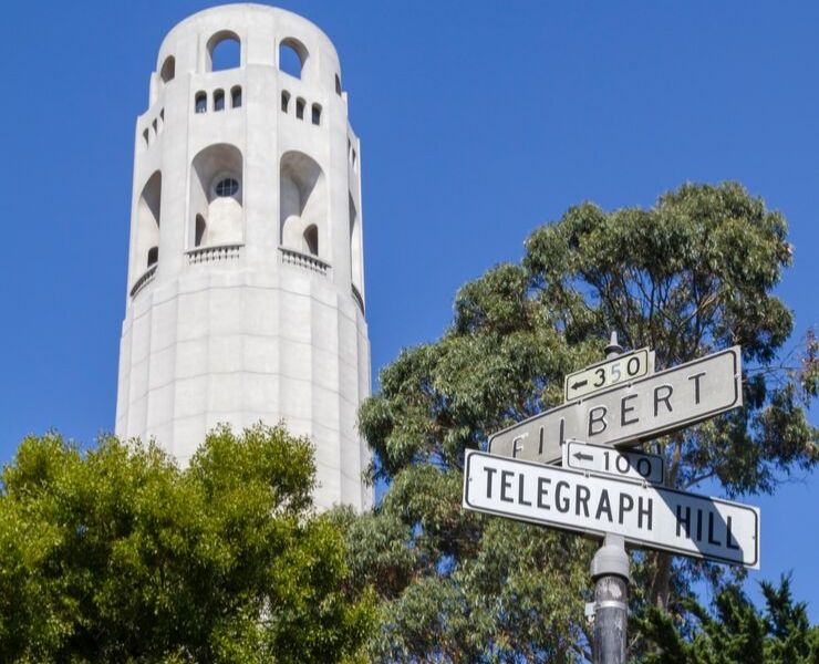 Lillian Coit memorial tower