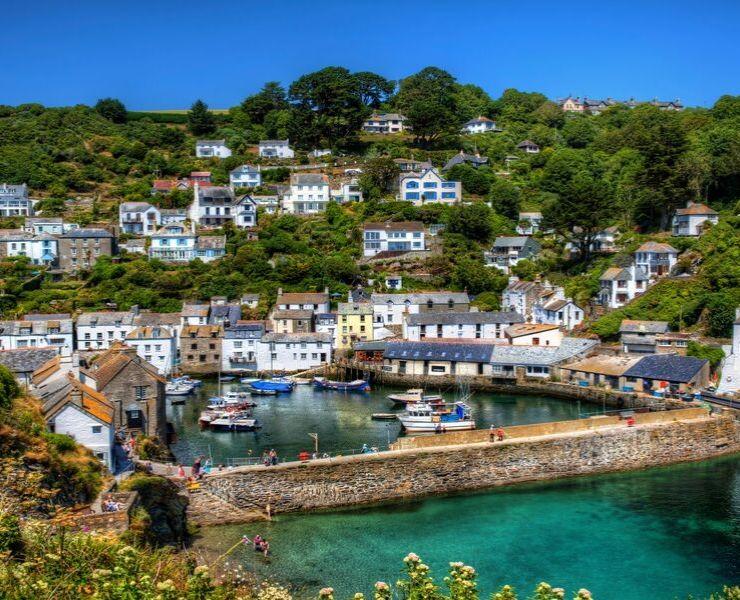 Cornish fishing village.