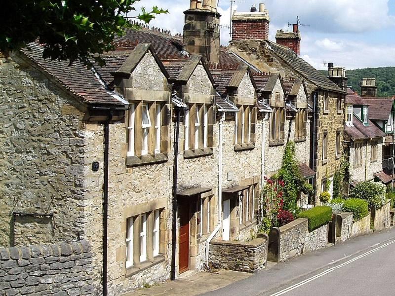 Peak District Village