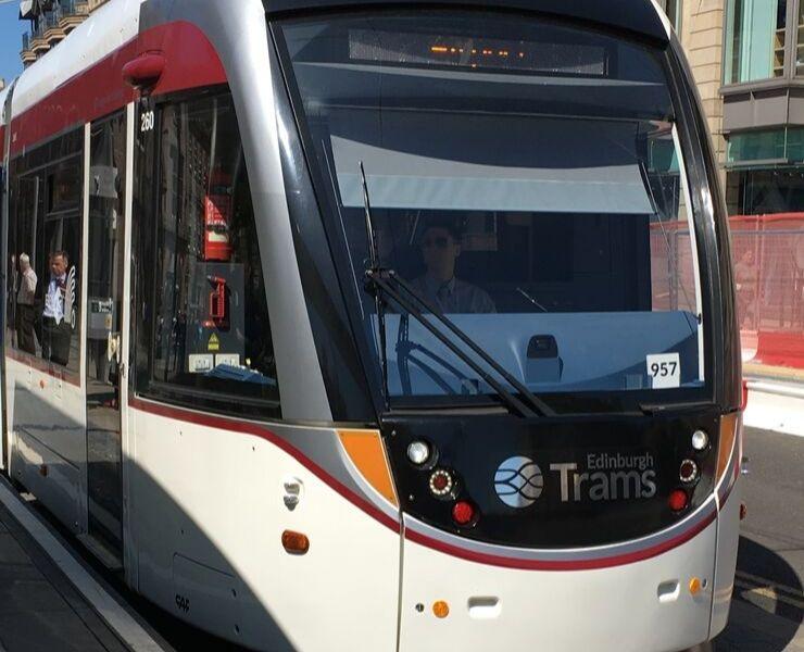 An Edinburgh Tram