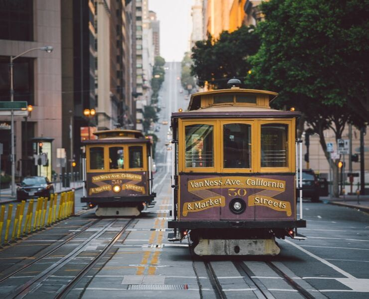 3 days in San Francisco - a trolley car
