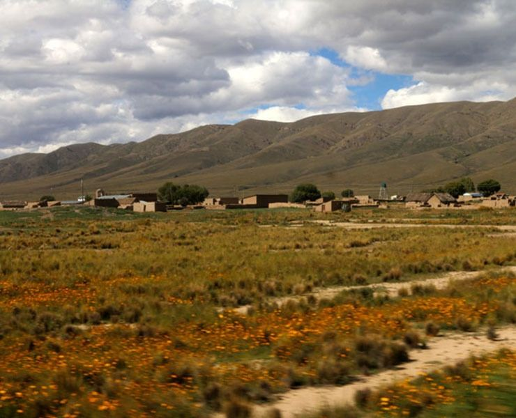 Uyani Salta Flats in Bolivia - great train journeys