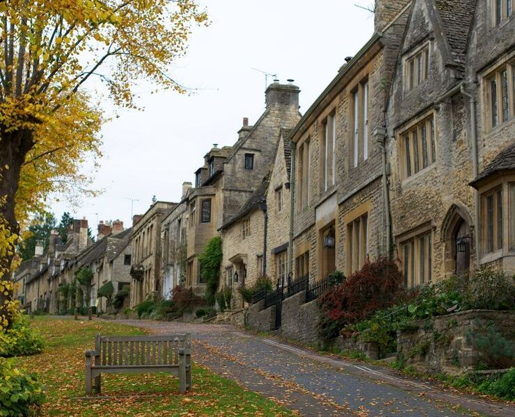 Cotswolds villages in England
