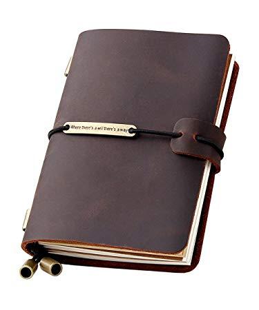 Refillable Travel Journal