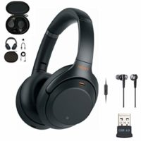 Sony Wireless Noise-Canceling Over-Ear Headphones