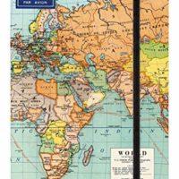 Cavilling World Maps Notebook