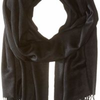 Betsey Johnson Women's Cashmere/Silk Real Pashmina