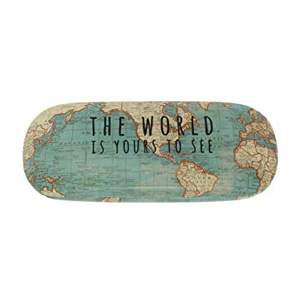 The World Is Yours to See Glasses Case