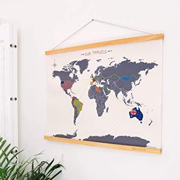 Cross Stitch Map Kit