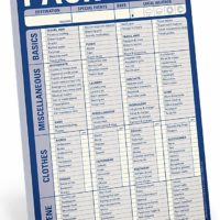 Knock Knock Pack This! Pad Packing List Notepad