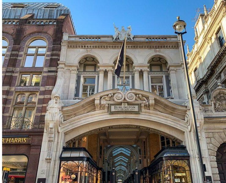 Entrance to the Burlington Arcade