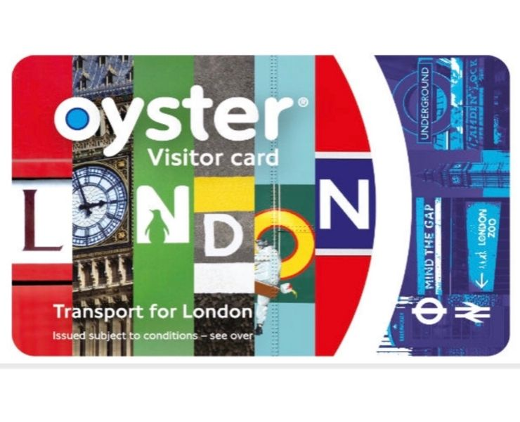 Oyster card is worth buying when planning a london trip.