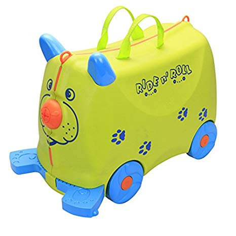 Kid's Ride On Roll Suitcase