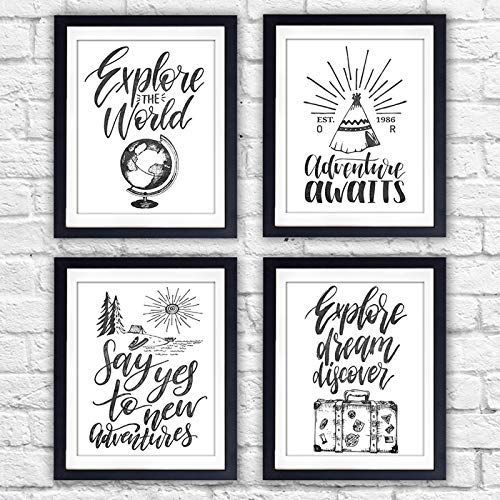 Travel Quotes Wall Art