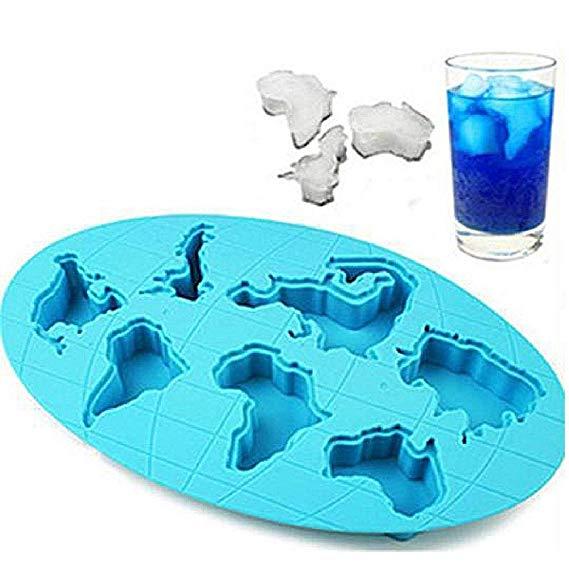 World Map Ice tray