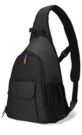 DSLR Camera Bag Waterproof Camera Sling Backpack with Rain Cover