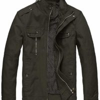 Men's Cotton Lightweight Jacket
