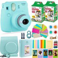 Fujifilm Instax Mini 9 Camera with Fuji Instant Film