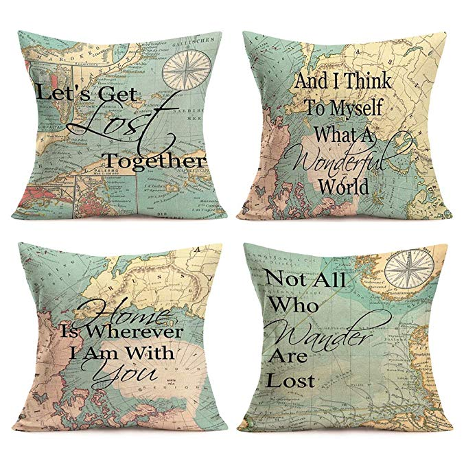 More Travel Quotes Cushions