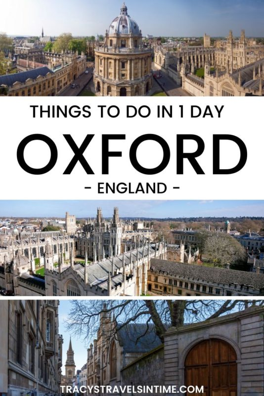 Things to do in Oxford England