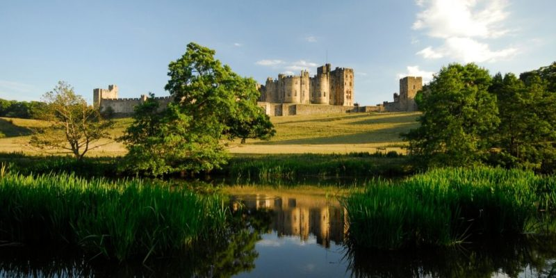 things to do in Northumberland - Alnwick Castle
