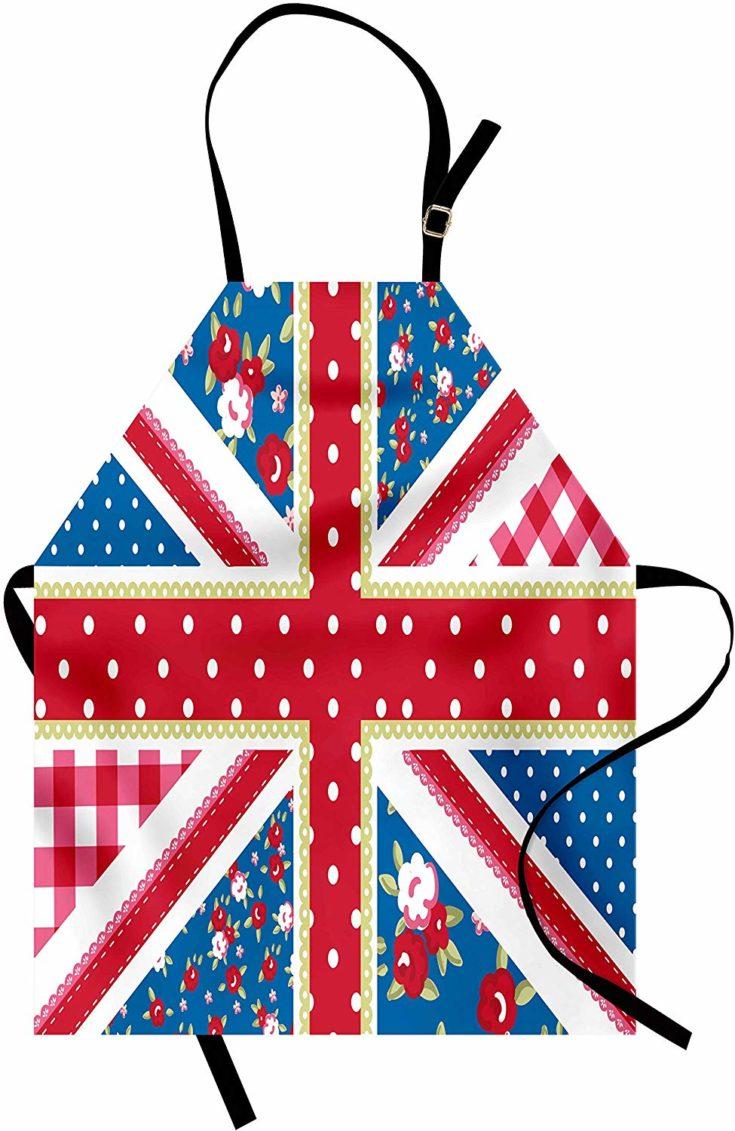 British Flag Kitchen Apron
