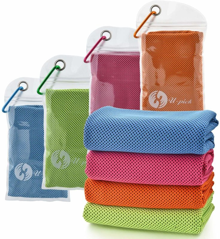 U-pick 4 Packs Cooling Towel