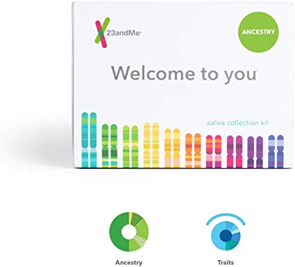 23andMe Ancestry + Traits Service: Personal Genetic DNA Test with 1500+ Geographic Regions