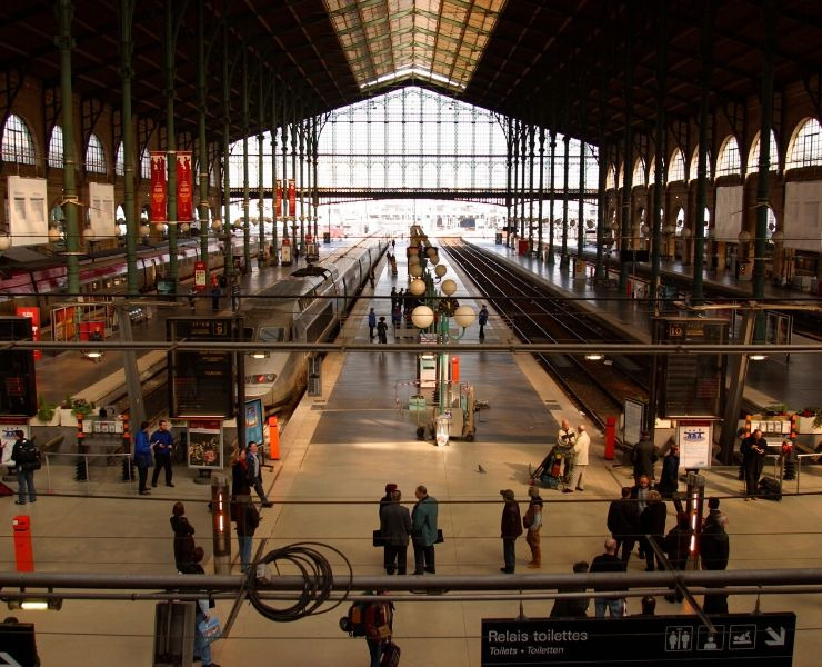 Gare du Nord in Paris read my Eurostar travel tips for more information to make the most of your trip