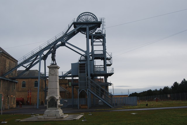 Learn about Northumberland's mining heritage at Woodhorn Museum