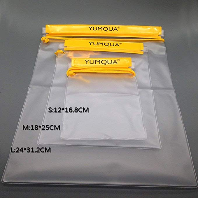 Pouch Dry Bags for Camera Mobile Phone Maps