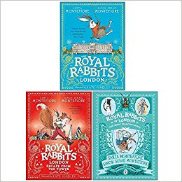 The Royal Rabbits of London 3 Books Collection Set
