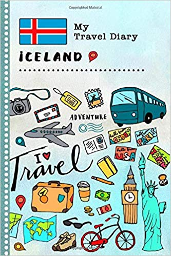 Iceland My Travel Diary: Kids Guided Journey