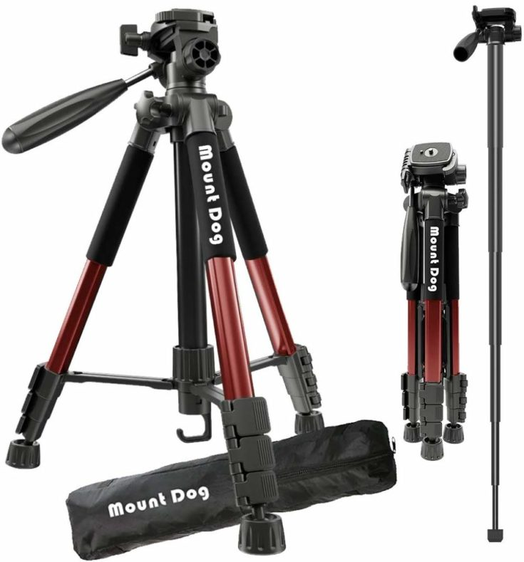 MountDog Camera Tripod