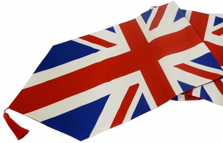 British Flag Table Runner