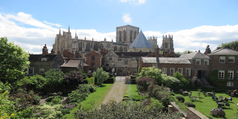 things to do in York - view of the minster