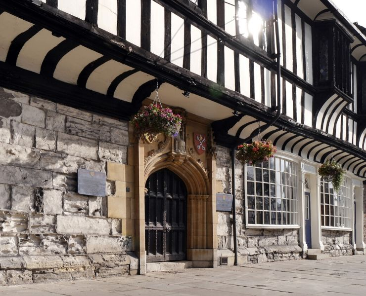 Beautiful old buildings in York