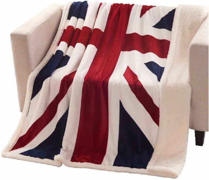 Super Soft Fleece Blanket British Flag