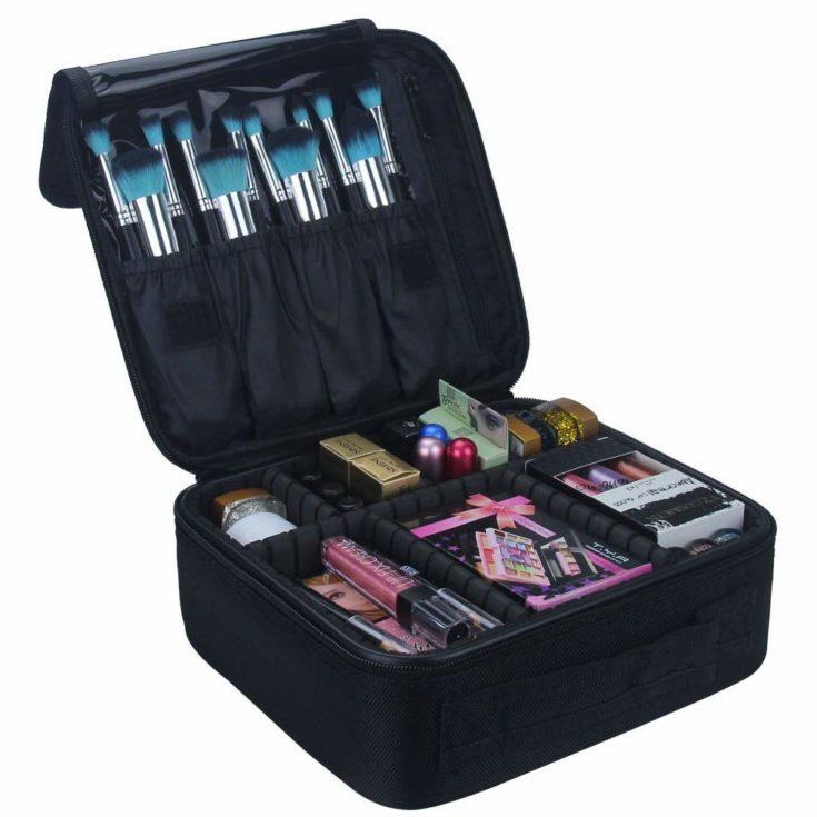 Travel Makeup Train Case