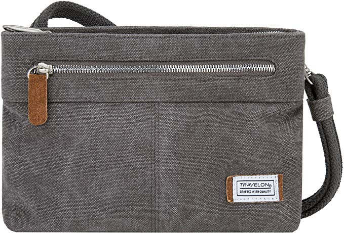 Travelon Women's Anti-Theft Heritage Small Cross Body Bag