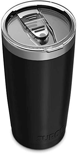 Stainless Steel Vacuum Insulated Tumbler with Lids and Straw [Travel Mug]