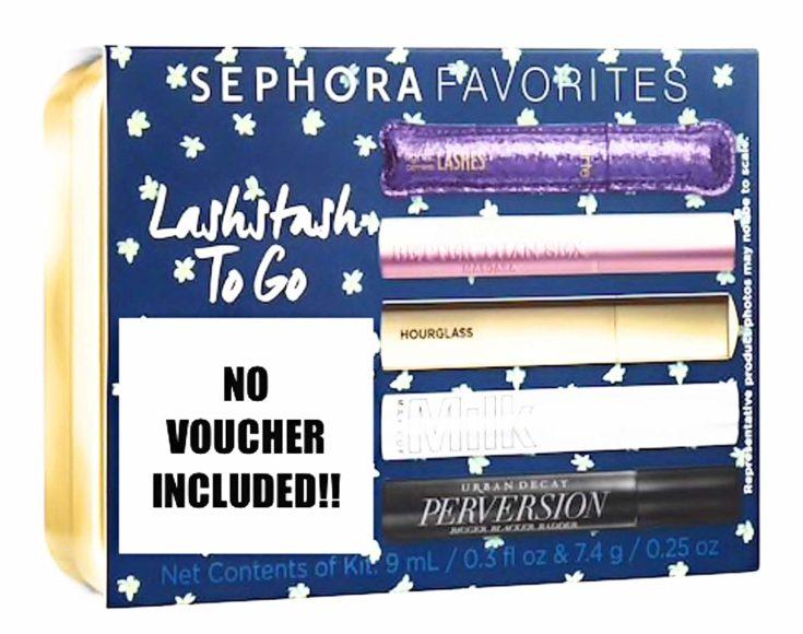 Sephora Favorites Lashstash To Go Five Mini Mascara Travel