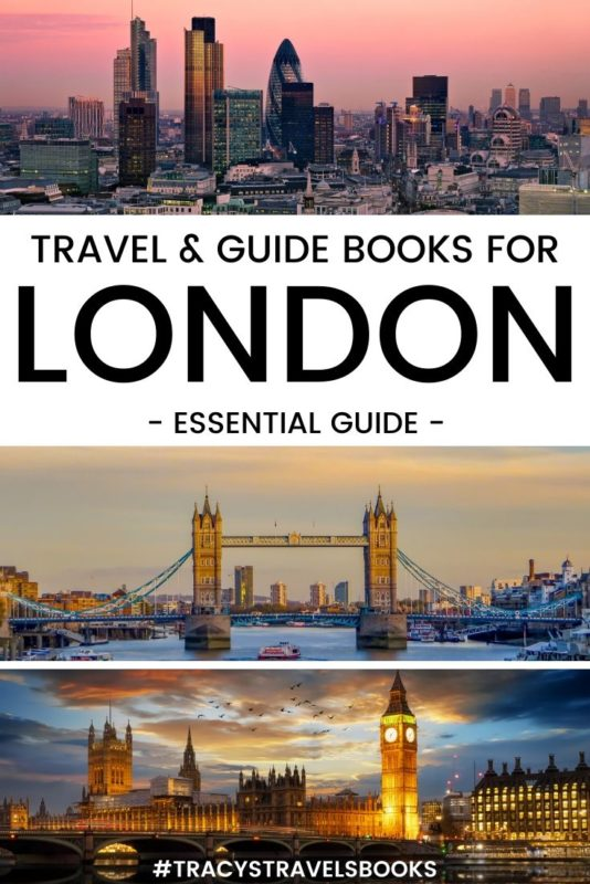 Travel and Guide books for London England
