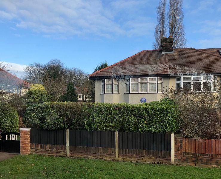 The childhood home of John Lennon